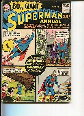 80-Page Giant 1 Fn-  Superman  Swan C/a 1964