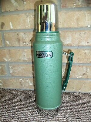 Vintage 1Qt Aladdin Stanley Thermos A-944DH With Pour Through Stopper  A+ Cond.