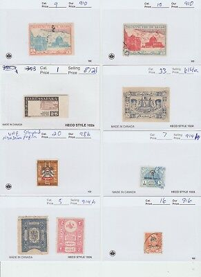 Middle East Revenue fiscal Cinderella stamps -  49c- 14