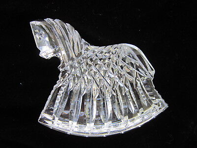 Waterford Crystal Horse Figurine Paperweight