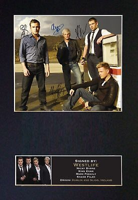 WESTLIFE - Signed Autographed/Photograph + FREE WORLDWIDE SHIPPING