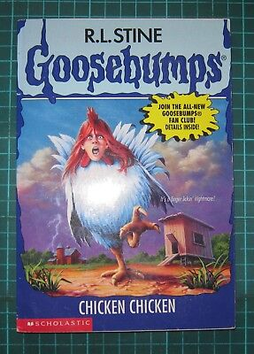 R L Stine Goosebumps  #53 Chicken Chicken 1997 UNREAD