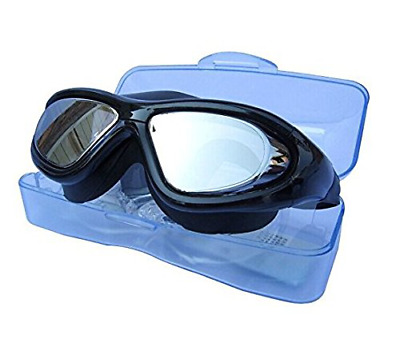 Super Big Frame No Press ANTI-FOG layer the Eye Swimming Goggles For Adult NEW