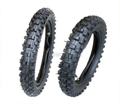 "80/100-12"" Rear 60/100-14 Inch Front Knobby Tyre/tire & Tube Dirt Pit Trail Bike"