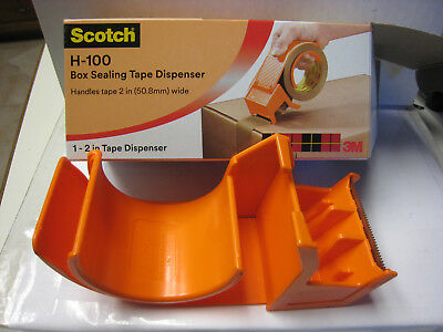 "3M Scotch Handheld 2"" Packaging Tape Dispenser - H-100 Box Tape Dispenser 11600"