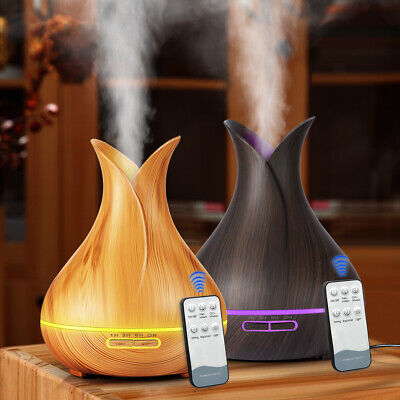 Essential Oil Diffuser Aroma Lamp Aromatherapy Electric Air Mist Make Humidifier