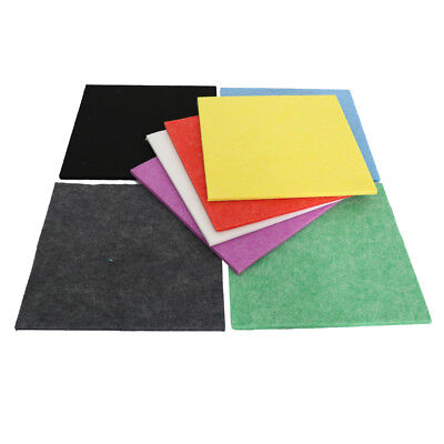 6 Pack Acoustic Panels Studio Sound Proofing Insulation Board 300x300x9mm