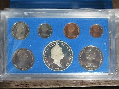 1982 New Zealand proof coin set
