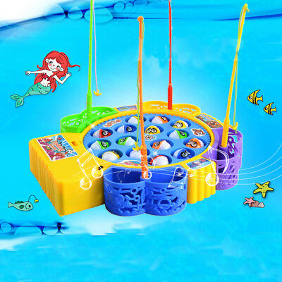 Fishing Game Kids Toy with Music Party Game Educational Safe Toy Party Favor AU