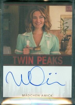 Twin Peaks Madchen Amick as Shelly Johnson Limited Event Series Autograph Card
