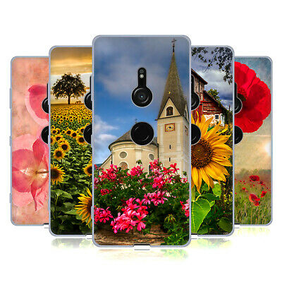Official Celebrate Life Gallery Florals Soft Gel Case For Sony Phones 1