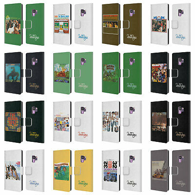 Official The Beach Boys Album Cover Art Leather Book Case For Samsung Phones 1