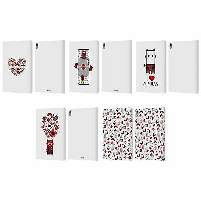 OFFICIAL AC MILAN 2018/19 INFANT LEATHER BOOK WALLET CASE COVER FOR APPLE iPAD