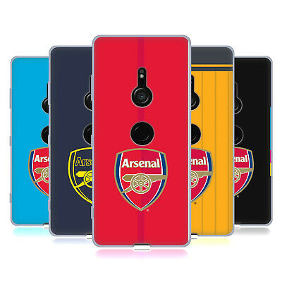 Official Arsenal Fc 2016/17 Crest Kit Soft Gel Case For Sony Phones 1
