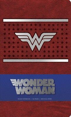 DC Comics Wonder Woman Ruled Notebook (2017, Paperback)