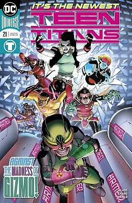 Teen Titans #21 Dc Comics Near Mint 8/22/18