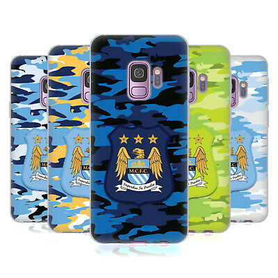 Official Manchester City Man City Fc Camou Soft Gel Case For Samsung Phones 1