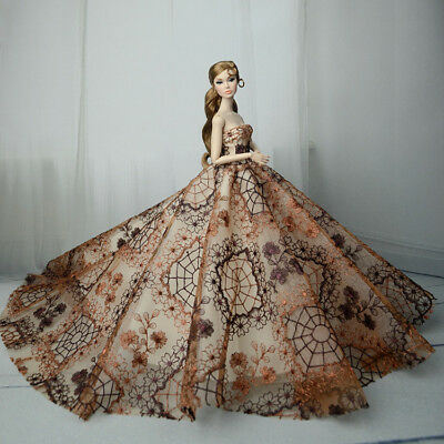 Fashion Royalty Princess Dress/Clothes/Gown For Barbie Doll S548