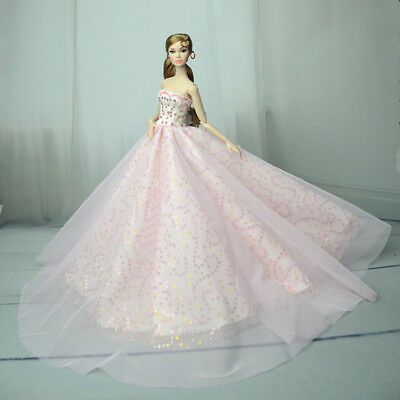 Pink Fashion Royalty Princess Dress/Clothes/Gown For 11 in. Doll S555