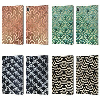 HEAD CASE DESIGNS TEXTURED ART DECO PATTERNS LEATHER BOOK CASE FOR APPLE iPAD