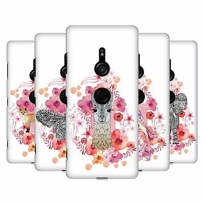 Official Monika Strigel Animals And Flowers Hard Back Case For Sony Phones 1