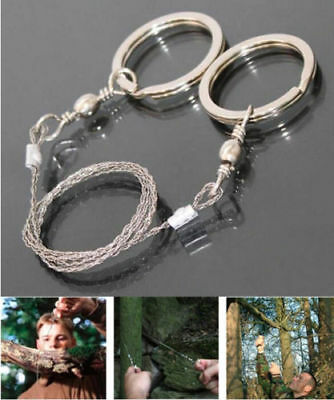 Portable Practical Emergency Survival Gear Steel Wire Saw Outdoor Camping Tools