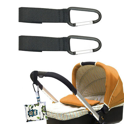 Universal Buggy Pram Pushchair Stroller Bag Carabiner Clip Hook Holder Strap LK6
