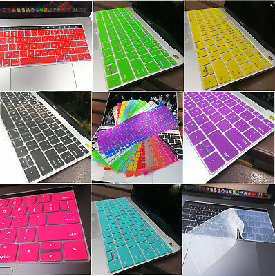 """Silicone Keyboard Cover For Retina Macbook Pro 13"""" 15"""" Touch Bar  Macbook 12inch"""