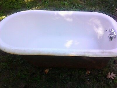 antique cast iron claw foot tub