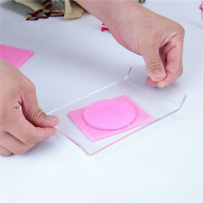 Acrylic Clay Roller with Acrylic Sheet Backing Board for Shaping 8C