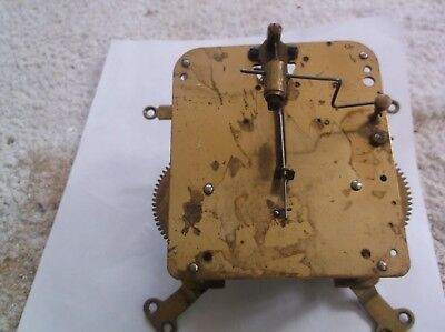 HAC MECHANISM  FROM AN OLD  MANTLE CLOCK working order