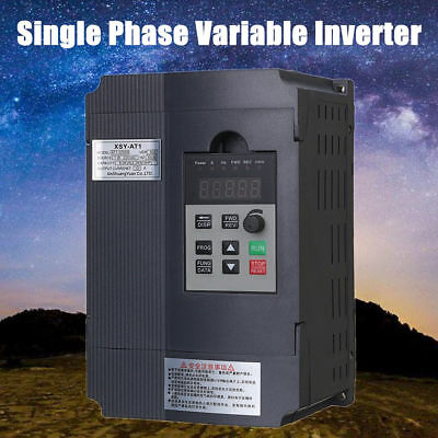 2.2KW 3PH VFD Single Phase Motor Speed Control Variable Frequency Drive Inverter
