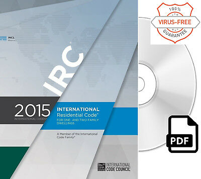 2015 International Residential Code (IRC) by ICC (On CD)