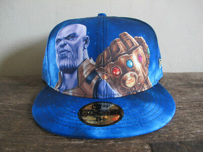 MARVEL x NEW ERA Avengers Infinity War Thanos 59FIFTY Fitted Cap 8 1/8 end game