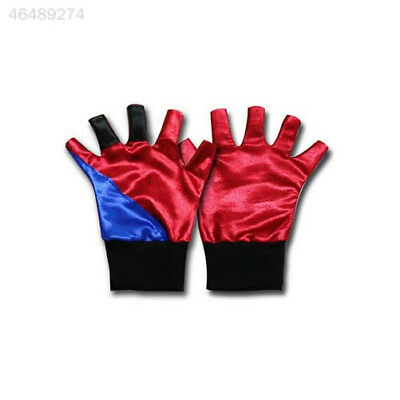 C2F4 Movie Suicide Squad Harley Quinn Joker Party Cosplay Accessories Glove
