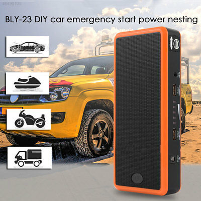DD4E Charger Booster Battery Charger Jump Starter Kit USB 15V 1A Car Portable