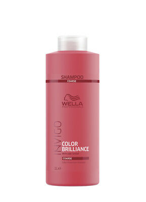 Wella INVIGO Color Brilliance Protection Shampoo Coarse kräftiges Haar 1000 ml