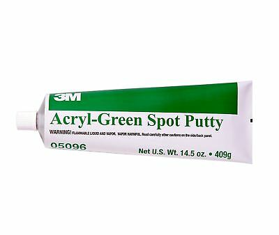 3M Green Acryl Spot Putty 409g Tube 05096 Stopper Body Filler