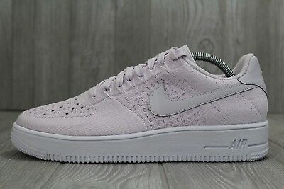 timeless design 0b886 dd58e 32 NIKE AIR Force 1 Ultra Flyknit Low Light Violet Men's Shoes 9 - 10  817419 500