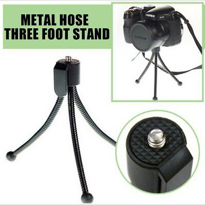 Portable Metal Tripods Mobile Phone Camera Fixed Stand Holder Flexible BG