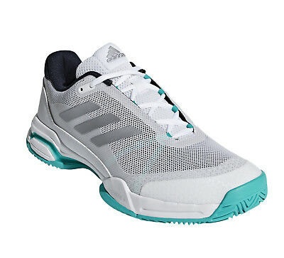 sports shoes bb781 8bb0e Adidas Barricade Club Men s tennis sneaker shoes - White Grey Blue - Reg   150