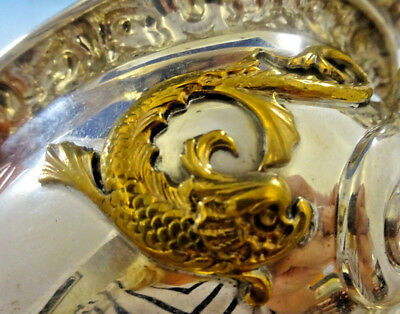 Mixed Metals by Tiffany & Co. Sterling Gravy Boat w/Applied Copper Fish (#0118)