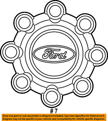 e 450 ford 4x4 best place to find wiring and datasheet resources Ford Ranger Hub Covers ford oem 04 16 f 350 super duty wheel cover hub center cap