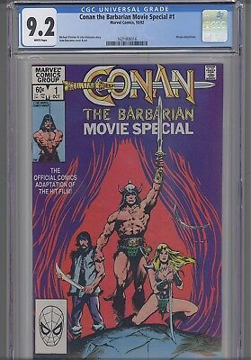 Conan The Barbarian Movie Special #1 CGC 9.2 Marvel 1982 Comic: NEW CGC  Frame