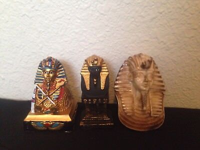 Three collection of Ancient Egyptian God Ramses different colors and designs 4lb