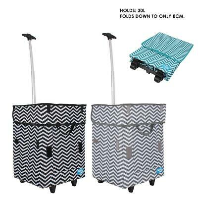 Shopping Trolley Cart Foldable Waterproof Bag Hand Luggage Folding Home Travel