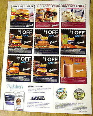 culvers coupon november 2019