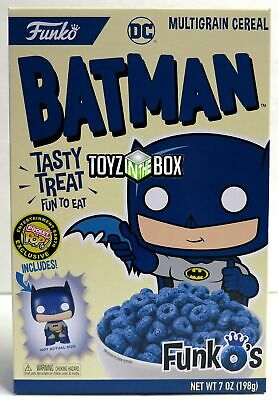 "In STOCK Funko's ""Batman"" Cereal with Funko Pocket Pop Vinyl Figure EE Exclusive"