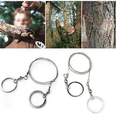 Outdoor Emergency Steel Wire Saw Hand Chain Saw Safety Survival Fretsaw ChainSaw
