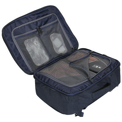 df00a711fe6c 44L Flight Approved Carry-on Luggage Backpack Compression Travel  Convertible Bag